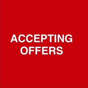 Accepting Offers!